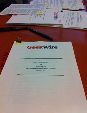 Legal docs for GeekWire