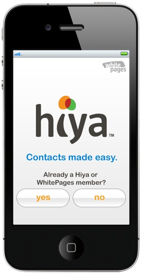 WhitePages unveils Hiya to help eliminate email contact clutter