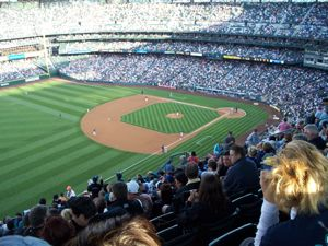 Safeco Field in fuller times.