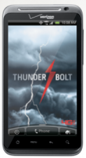 The Android-based Thunderbolt