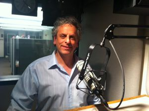 Andy Sack in the KIRO-FM studios