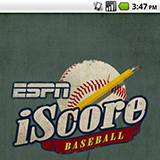 ESPN iScore Baseball Screen