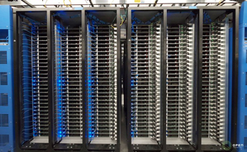 Facebook 'Open Compute' triplet server racks