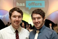 HasOffers founders Lucas and Lee Brown