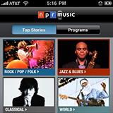 NPR Music screencap
