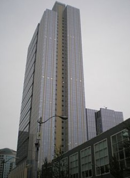 The Russell Investments Center building, where Zillow is expanding.