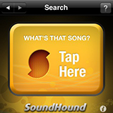 SoundHound screen capture