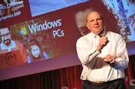 Steve Ballmer was on the hot seat in 2011