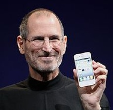 Steve Jobs (Via Wikipedia)