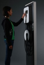 The ECOtality charging station