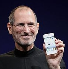 Steve Jobs (Wikipedia photo)