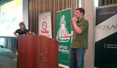 Startup Weekend organizer Marc Nager