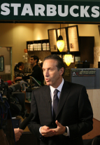Howard Schultz (Richard Eriksson photo)