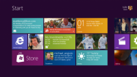 The new 'Windows 8' start screen (Credit: Microsoft)