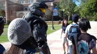 Spartan goes to College