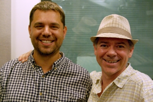 Peter Vessenes and Mike Koss (Erynn Rose photo)