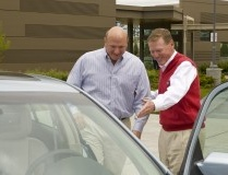 Steve Ballmer and Alan Mulally