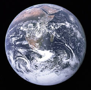 Why is the earth round? Wikipedia photo.