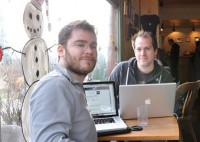Simply Measured founders Aviel Ginzburg, left, and Damon Cortesi