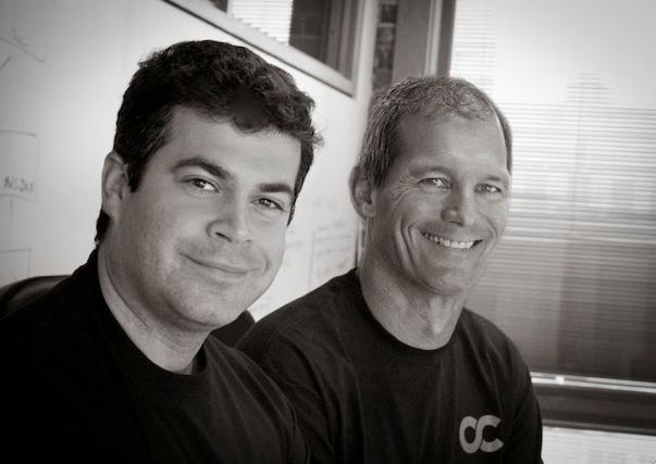 Opscode founder Jesse Robbins, left, handed the CEO reins to tech veteran Mitch Hill, right last year.