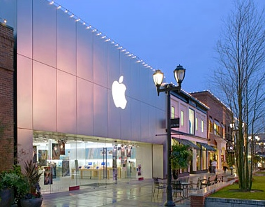 Apple's U Village store in Seattle
