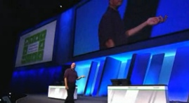 Ballmer on stage at Build this morning.