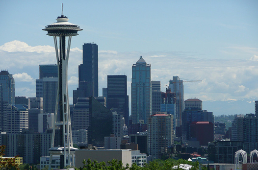 Seattle skyline (Photo: Angela N.)