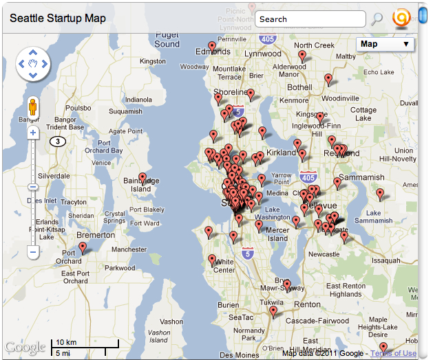 Can you find your company on the Seattle Startup Map? – GeekWire