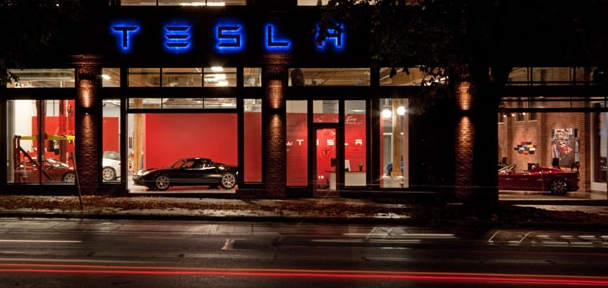 Tesla Motors To Open New Store At Bellevue Square Mall Geekwire