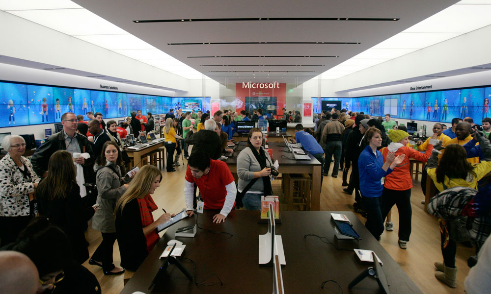Range The Seattle Store ~ Admit it apple fans microsoft s stores are pretty darn