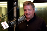 Steve Murch in the KIRO-FM studios. (Erynn Rose photo)