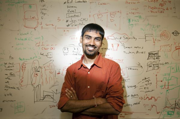 UW professor Shwetak Patel. (Photo via John D. & Catherine T. MacArthur Foundation)