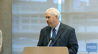 Seattle Mayor Mike McGinn (Via Seattle Channel)