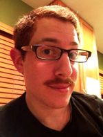 GeekWire's Red Russak sports a stache