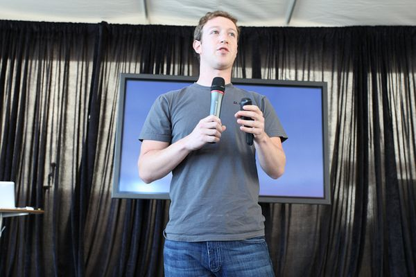 Mark Zuckerberg. (Photo by Robert Scoble via Flickr.)