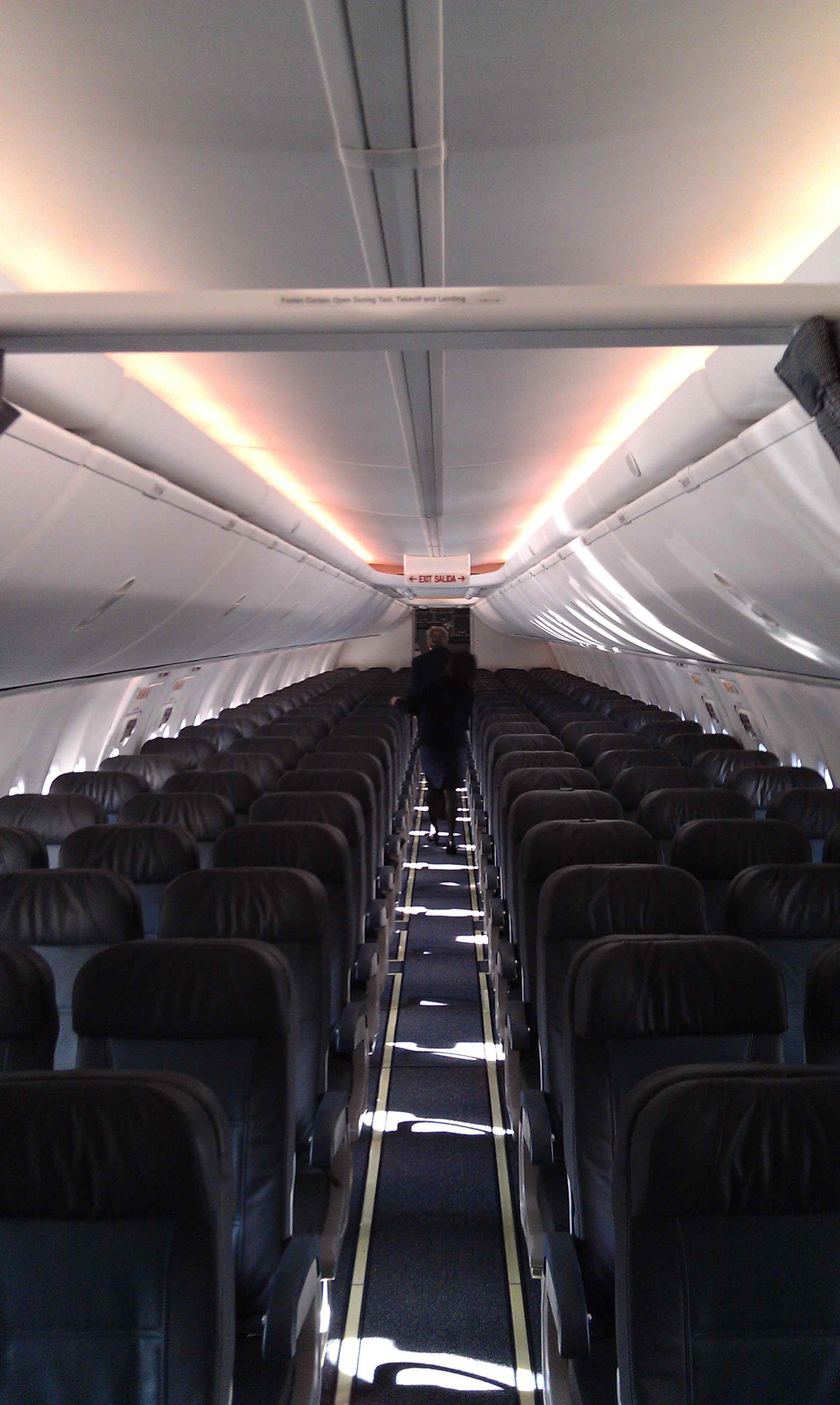 Inside alaska airlines 39 new boeing sky interior geekwire for Inside pictures