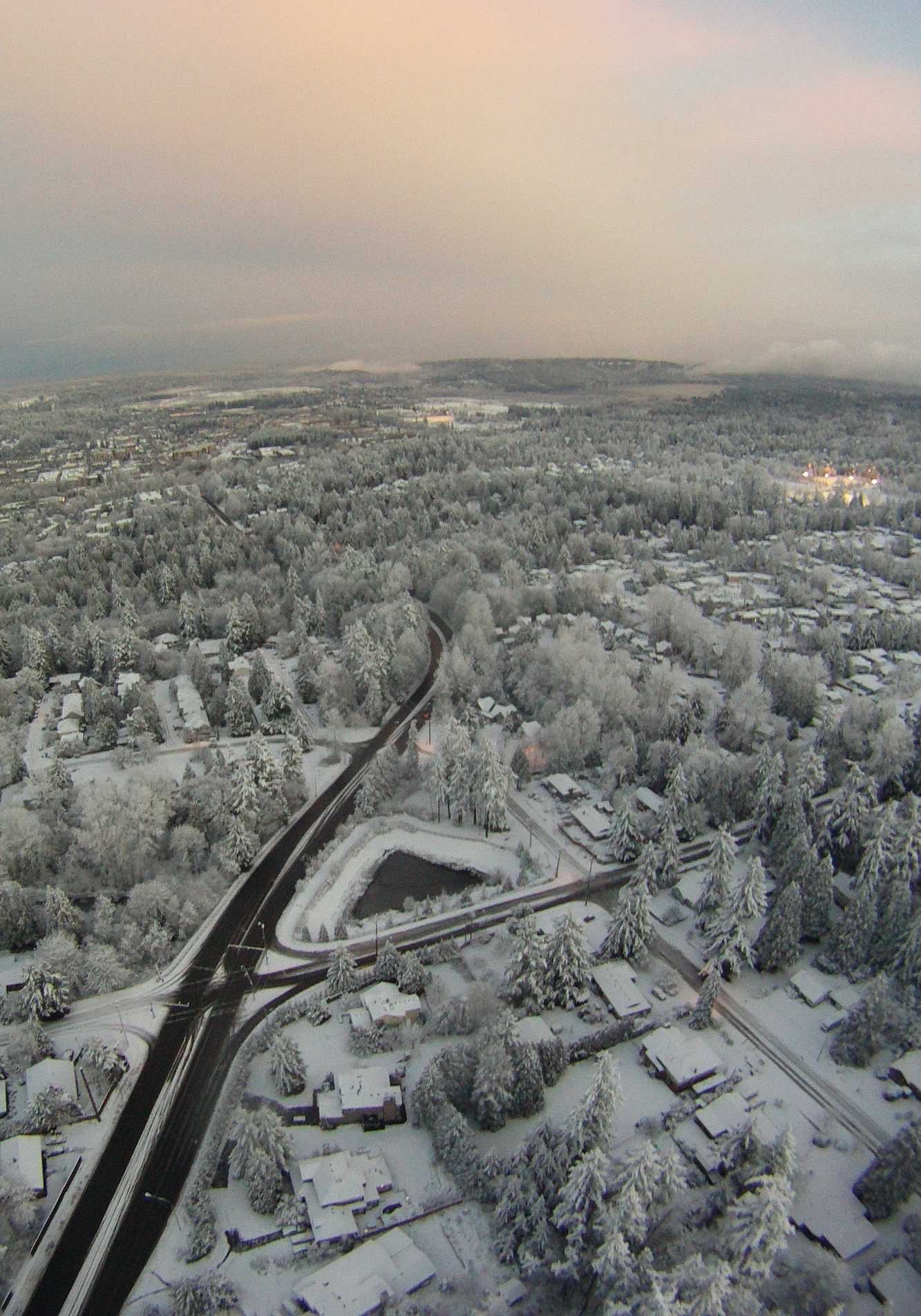 Behind The Scenes Teenager Captures Amazing Aerial Snow Pictures From R C Plane