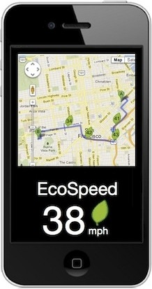 ecospeed driving directions plus fuel efficient speeds along the way