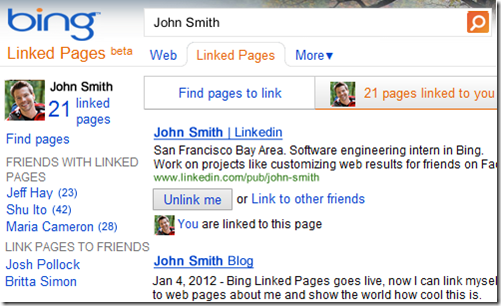 Microsoft Bing deepens Facebook integration with 'Linked ...