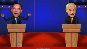 Freak'n Genius first used the Kinect to make presidential debates funny.