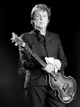 Paul McCartney. Wikipedia photo