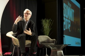 Ray Ozzie at the GeekWire Summit in Seattle. (Annie Laurie Malarkey photo)