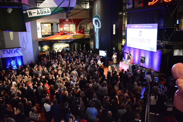 The GeekWire Gala at MOHAI is taking place Wednesday, Dec. 7.