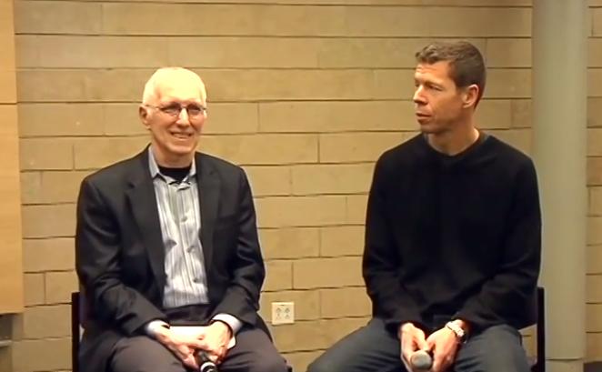 Nick Licata and Chris DeVore