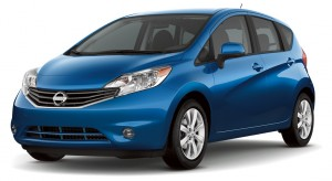 The Nissan Versa Note