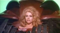 Jane Fonda as Barbarella (Photo by Wikimedia Commons)