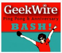 GeekWire Ping Pong & Anniversary Bash