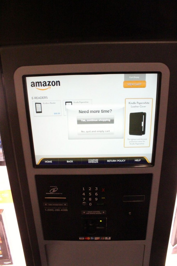 surprise  amazon tests physical retail with  u2018kindle kiosk