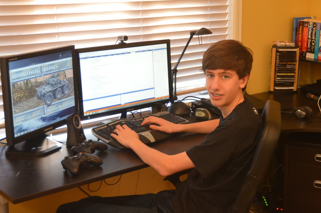 Matthew-at-desk