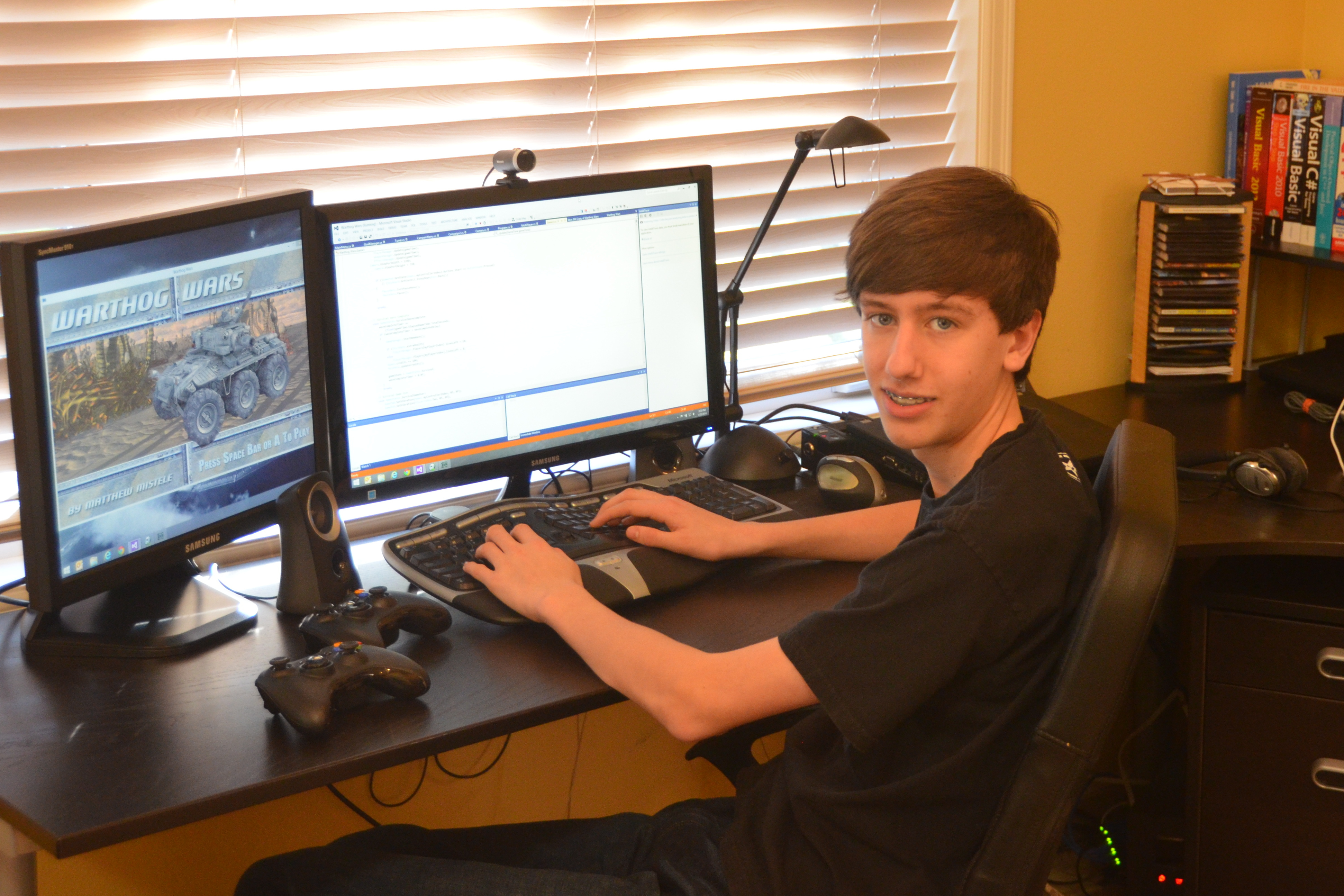 Geek Of The Week Matthew Mistele 14 Year Old Xbox Game